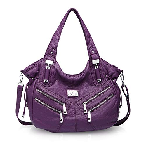 bags NICOLE DORIS handbags casual women Purple amp; shoulder hobo large Women bags for qCUPr5qw