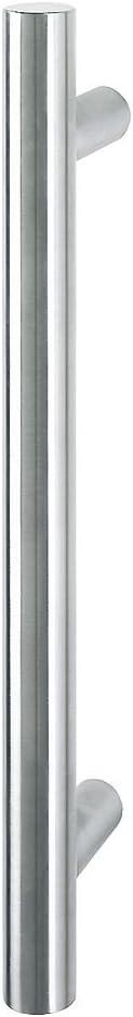 HOPPE E5011 - Tirador para puerta (acero inoxidable, acabado mate, recto), 2010982