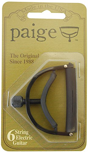 Paige 6 string electric guitar capo-for extreme string bendi