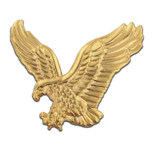 Gold Eagle Lapel Pin, 1 Piece (Gold Eagle Eagle)