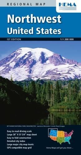 Northwest United States Map ebook