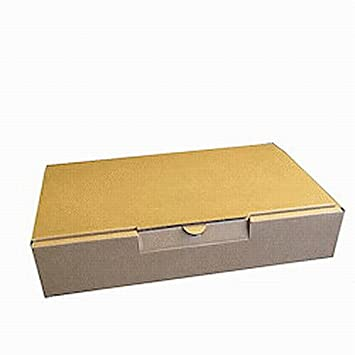 10 x optimizada moviepostersdirect carta cajas de envío caja de envío caja de correo transito seguro (100% cartón reciclado, 10 unidades), color marrón: ...