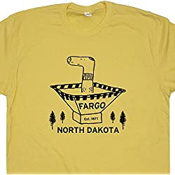 XL - Fargo Wood Chipper T Shirt North Dakota Tee Funny Wood Chipper 90s Movie Poster Woodchipper