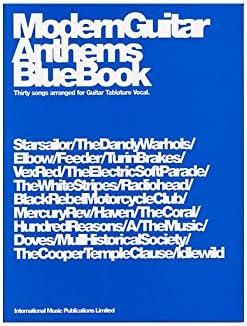 Modern Guitar Anthems: Blue Book. Partituras para Acorde de ...