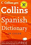 Collins Gem Spanish Dictionary, 8e, HarperCollins Publishers Ltd. Staff, 0061995177