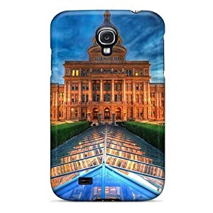 For Case Samsung Note 4 Cover CUFnBFD5166fKqKk Texas Capitol At Dusk PC Silicone Gel . Fits For Case Samsung Note 4 Cover