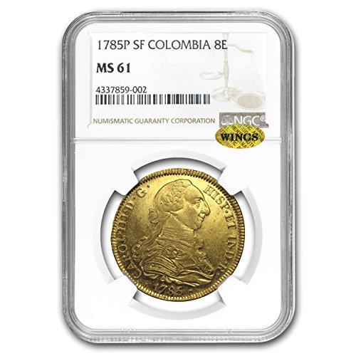 1785 Gold 8 Escudos