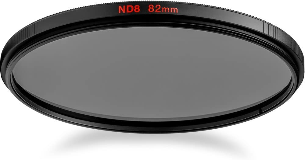 Grey Manfrotto MFND8-62 Circular Lens Filter 62mm