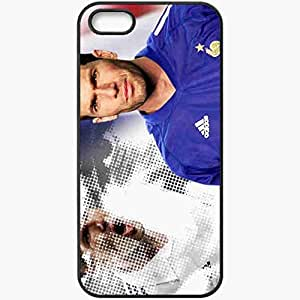 Personalized iPhone 5 5S Cell phone Case/Cover Skin Zidane Team France Black