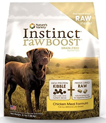 Nature's Variety Instinct Raw Boost Grain-Free Dry Dog Food