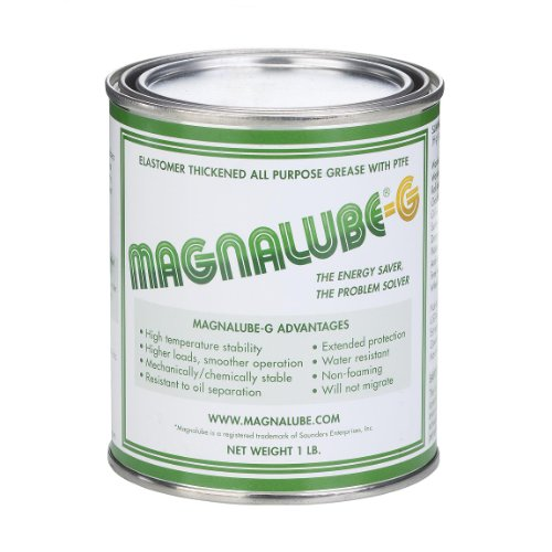 Magnalube-G PTFE Grease: 1 count - 1 LB Can (1 Pint)