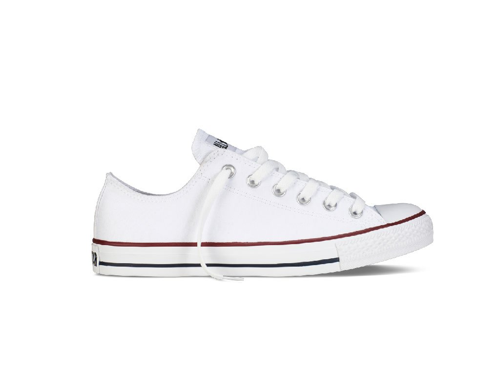 Converse Chuck Taylor All Star Lo Top Optical White 5.5 by Converse