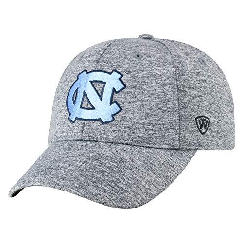 (Top of the World North Carolina Tar Heels Men's Hat Icon, Charcoal, Adjustable )