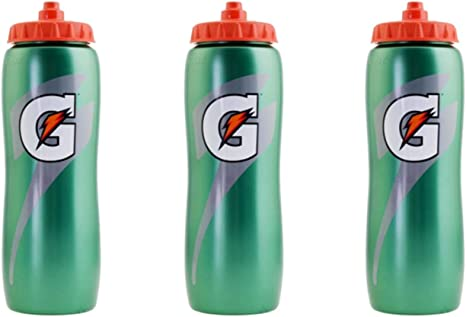 Pearl Green Gatorade 50220SM G Series Performance Squeeze Bottle 32oz 4 Pack