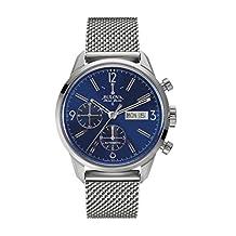 Bulova Men's 63C117 Swiss-Automatic Blue Watch