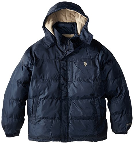 Tall Bubble (U.S. Polo Assn. Men's Big-Tall Classic Short Bubble Jacket with Small Pony Logo, Classic Navy, 3X)