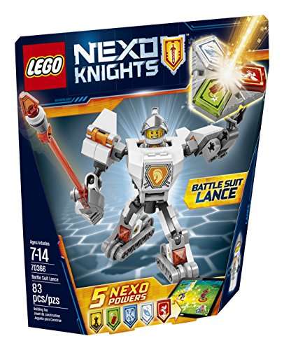 LEGO Nexo Knights Battle Suit Lance 70366 Building Kit (83 Piece)