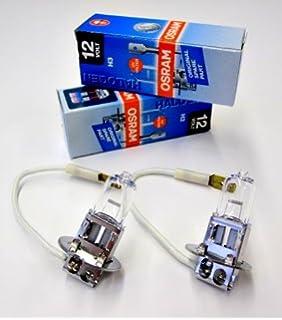 f/ür Roller Pk22s 12V Lampe H3 Halogen 55W mit E-Pr/üfzeichen