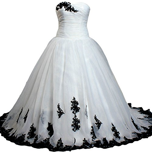 ANTS Sweetheart Ball Gown Wedding Dresses Organza Lace Satin Size 26W US Ivory and -