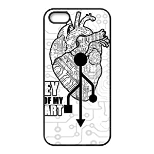 iPhone 4 4s Cell Phone Case Black KEY OF MY HEART SU4402828
