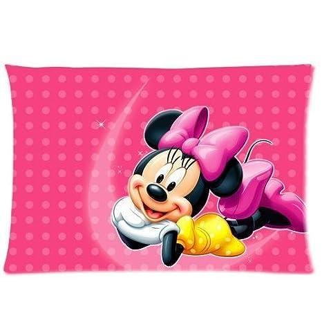Amazon.com: Diseño personalizado Cute Minnie Mouse Funda de ...