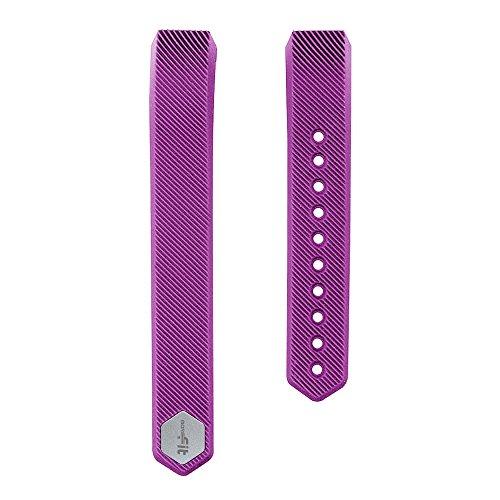 MoreFit Slim Band, Adjustable Replacement Strap for MoreFit Slim Smart Wristbands, Purple
