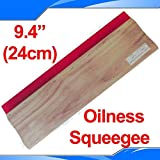 INTBUYING Screen Printing Squeegee 9.4 inches Long