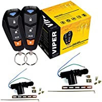Viper DEI 350 Plus 3105V 1-Way Security Car security 2 Door Locks keyless entry