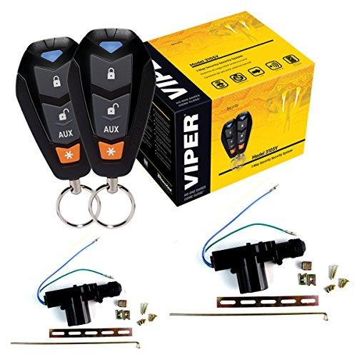Viper DEI 350 Plus 3105V 1-Way Security Car security 2 Door Locks keyless entry