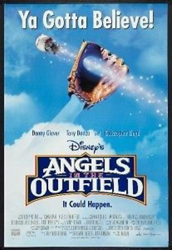 ANGELS IN THE OUTFIELD 27x40 D/S Original Movie Poster One Sheet - Poster Angel Movie