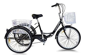 "Jorvik 24"" Plegable Marco Adulto Triciclo - Azul"