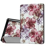 WiTa-Store Cover for Amazon Fire HD8 (2016/2017/2018) 8.0 Inch Smart Slim Case Book Cover Stand Flip HD 8 New