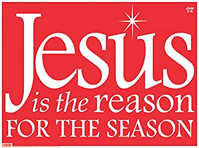 Faithworks 92001UD Christmas yd Sign Decoration