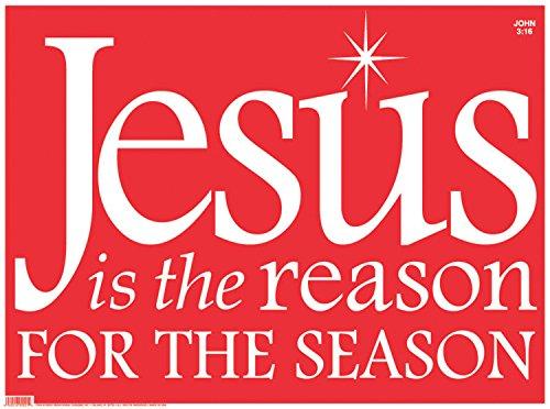 Christmas Yard Signs - CB Gifts Faithworks Plastic Christmas Yard Sign, 24