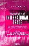 Handbook of International Trade, E. Kwan Choi, James C. Hartigan, 1405120622