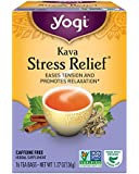 Yogi Tea, Kava Stress Relief, 16 Count, Packaging May Vary