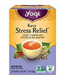 Yogi Herbal Tea, Kava Stress Relief, 16 Tea Bags (Pack of 6), Packaging May Vary