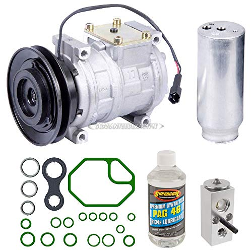 AC Compressor w/A/C Repair Kit For Chrysler Concorde LHS Dodge Intrepid - BuyAutoParts 60-80159RK New ()