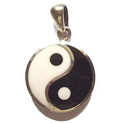 Peter stonetm sterling silver yin yang pendant amazon peter stonetm sterling silver yin yang pendant aloadofball Choice Image