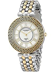 Akribos XXIV Womens AK808TTG Two-Tone Watch