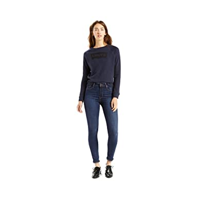 1f51451df2ee6b Image Unavailable. Image not available for. Color: Levi's Women's 721 High  Rise Skinny Jeans, Blue Story ...