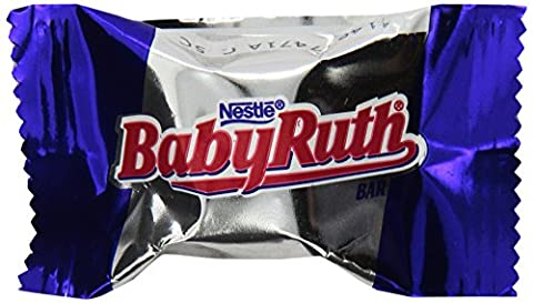 Baby Ruth Minis Bulk Individually Wrapped, 25 Pound (Bite Size Baby Ruth)