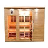 4 to 5-person Infrared Sauna cabin APOLLON CLUB