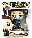Brad Marchand Boston Bruins signed Funko Pop figure