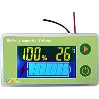 Medidor de capacidad de batería de ácido