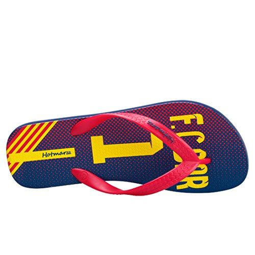 Hotlzz Mens Infradito Inghilterra Sandali Estivi Sandali Da Spiaggia Rosso