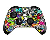 SKINOWN Xbox One Controller Skin Art Bombing Slapping Sticker Vinly Decal Cover for Microsoft Xbox One DualShock Wireless Controller