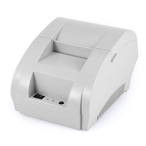 Amazon.com: ZJ - 5890K Mini 2.283 in POS Recibo Impresora ...