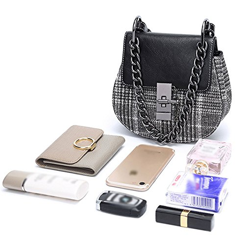 For Handle Chain Bag Ladies With Cross Bags Clutch Designer Black Handbags Evening Plaid Bags Mini Top Body Women g6wxYav6