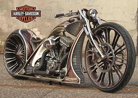 Harley davidson - 3 - Moto - classic bike - bicicleta ...